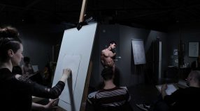 Art Model Collective life drawing pose