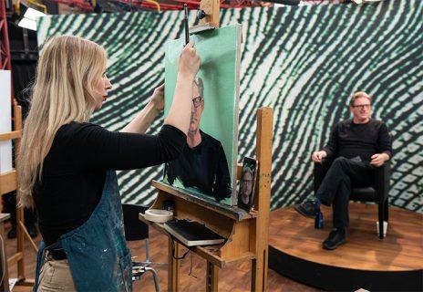 LARA alumni Cristabel Blackburn won Portrait Artist of the Year