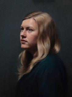 Portrait of Megan Mylrea by Alastair Brown