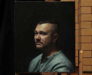 Portrait of Peter by Alastair Brown
