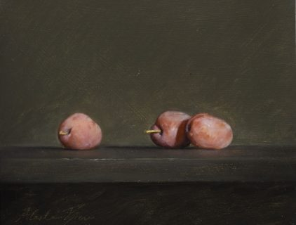 Trio of Plums by Alastair Brown